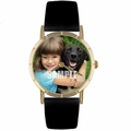 Custom Pets Photo Watch Classic Gold Style P 0000007