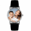 Custom Sweetheart Photo Watch Classic Silver Style R 0000006