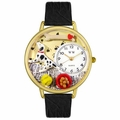 Dalmatian Watch in Gold or Silver Unisex G 0130031
