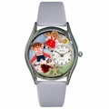 Day Care Teacher Watch Classic Silver Style S 0640007