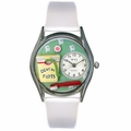 Dental Assistant Watch Classic Silver Style S 0620032
