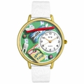 Dental Assistant Watch in Gold or Silver Unisex G 0620032
