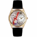 Electric Guitar Watch Classic Gold Style C 0510006