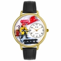 Firefighter Watch in Gold or Silver Unisex G 0610027
