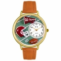Football Watch in Gold or Silver Unisex G 0820008