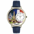 France Watch in Gold or Silver Unisex U 1420006