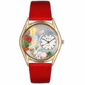 Garden Fairy Watch Classic Gold Style C 1211004