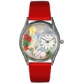 Garden Fairy Watch Classic Silver Style S 1211004