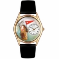 Golf Bag Watch Classic Gold Style C 0820010