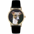 Greyhound Print Watch in Gold Classic P 0130046
