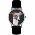 Greyhound Print Watch in Silver Classic R 0130046