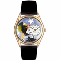 Halloween Flying Witch Watch Classic Gold Style C 1220009