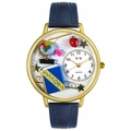 History Teacher Watch in Gold or Silver Unisex G 0640006