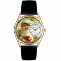 Horse Competition Watch Classic Gold Style C 0810001