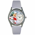 Ice Skating Watch Classic Silver Style S 0810006