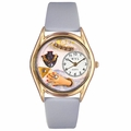 Jewelry Lover Blue Watch Classic Gold Style C 1010008