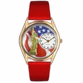 July 4th Patriotic Watch Classic Gold Style C 1228001
