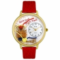 Knitting Watch in Gold or Silver Unisex G 0410003