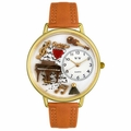 Music Piano Watch in Gold or Silver Unisex G 0510007