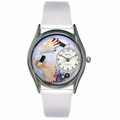 Nail Tech Watch Classic Silver Style S 0630003