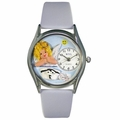 Nurse Angel Watch Classic Silver Style S 0610007