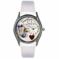 Nurse Blue Watch Classic Silver Style S 0610002