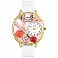 P.E. Teacher Watch in Gold or Silver Unisex G 0630017