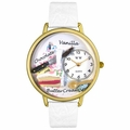 Pastries Watch in Gold or Silver Unisex G 0310012