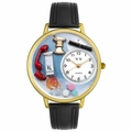 Pharmacist Watch in Gold or Silver Unisex G 0620014
