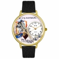 Physical Therapist Watch in Gold or Silver Unisex G 0620022