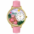 Pigs Unisex Gold or Silver Whimsical Watch G 0110003