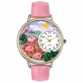 Pigs Unisex Silver Whimsical Watch U 0110003