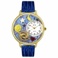 Pisces Watch in Gold or Silver Unisex G 1810009