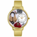 Purse Lover Watch in Gold or Silver Unisex G 1010021
