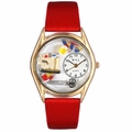 Quilting Watch Classic Gold Style C 0440004