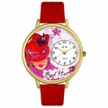 Red Hat Madam Watch in Gold or Silver Unisex G 0470005