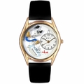 Respiratory Therapist Watch Classic Gold Style C 0610018