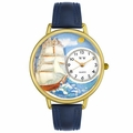 Sailing Watch in Gold or Silver Unisex G 0810001