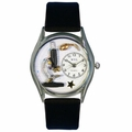 Science Teacher Watch Classic Silver Style S 0640013