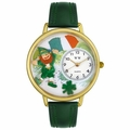 St Patricks Day Watch  Irish Flag  in Gold or Silver Unisex G 1224001