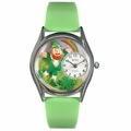 St Patricks Day Watch  Rainbow  Classic Silver Style S 1224002