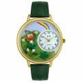 St Patricks Day Watch  Rainbow  in Gold or Silver Unisex G 1224002