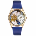 Star of David Watch Classic Gold Style C 0710004