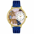 Star of David Watch in Gold or Silver Unisex G 0710008