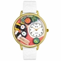 Sushi Watch in Gold or Silver Unisex G 0310013