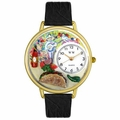 Taco Lover Watch in Gold or Silver Unisex G 0310015