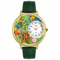Tropical Fish Watch in Gold or Silver Unisex G 0140007