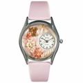 Valentines Day Watch  Pink  Classic Silver Style S 1220013