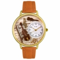 Violin Watch in Gold or Silver Unisex G 0510002
