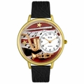 Wind Instruments Watch in Gold or Silver Unisex G 0510014